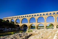 Pont du Gard fotos de stock royalty free