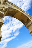 Pont du gard Foto de Stock Royalty Free
