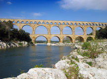 Pont du Gard Royalty Free Stock Photo