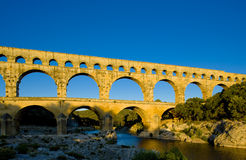 Pont du Gard Royalty Free Stock Photography