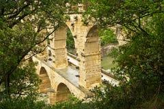 The Pont du Gard Stock Photography