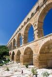 Pont DU Gard Stockbild