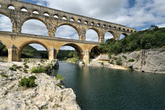 Pont-du-Gard Stock Photo