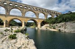Pont-du-Gard Stock Photo
