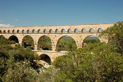 Pont du Gard Stock Photography
