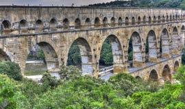 Pont du Gard Fotografia Royalty Free