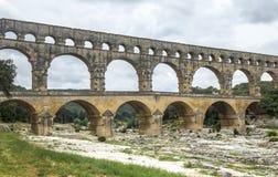 Pont du Gard Arkivbilder