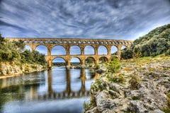 Pont Du Gard Fotografia Stock