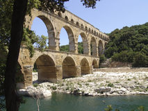Pont du Gard. France, Europe Stock Photo