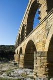 Pont DU Gard Lizenzfreie Stockfotos