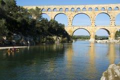 Pont DU Gard Lizenzfreies Stockbild