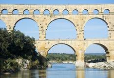 Pont DU Gard Stockfoto