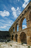 Pont du Gard. Ancient roman aqueduct in France, provence Royalty Free Stock Images