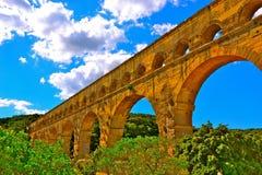 pont du gard Стоковые Изображения RF