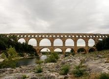 Pont du Gard 4 Obrazy Royalty Free
