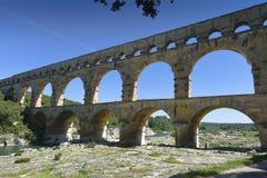 pont du gard Стоковые Фотографии RF