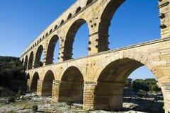 Pont du Gard Stock Image