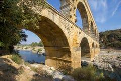 Pont du Gard royalty-vrije stock fotografie