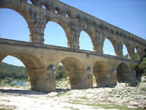 Pont du gard Stock Photo