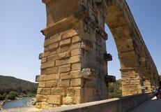 Pont Du Gard, de Plaats van de Werelderfenis Stock Afbeeldingen