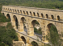Pont du Gard, France Stock Photos
