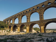 Pont du Gard, France Royalty Free Stock Photography