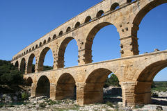 Pont du Gard France Royalty Free Stock Photo