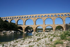 Pont du Gard France Stock Image