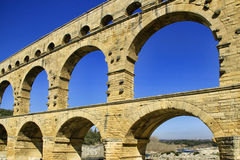 Pont du Gard France Royalty Free Stock Images