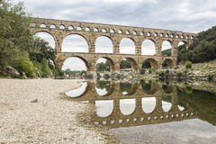 Pont du Gard, France Royalty Free Stock Photo