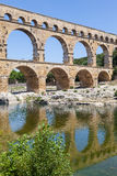 Pont du Gard - France Royalty Free Stock Photography
