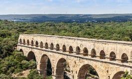 Pont du Gard - France Stock Photography
