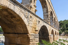 Pont du Gard - France Royalty Free Stock Image