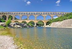 Pont du Gard, Francja Zdjęcia Stock