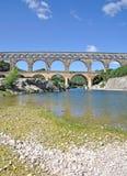 Pont du Gard, Francja Zdjęcie Stock