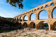 Pont DU Gard, Frankreich Lizenzfreie Stockbilder