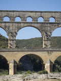 Pont du Gard, Frankrijk Royalty-vrije Stock Afbeelding
