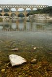 Pont du Gard, Gard region, France Royalty Free Stock Photography
