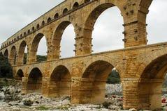 Pont du Gard, Gard region, France Stock Photography