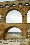 Pont du Gard, Gard region, France Royalty Free Stock Photography