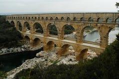 Pont du Gard, Gard region, France Royalty Free Stock Photos