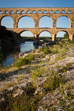 Pont du Gard, Languedoc-Roussillon Royalty Free Stock Photo