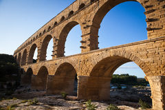 Pont du Gard, Languedoc-Roussillon Royalty Free Stock Photos