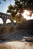 Pont du Gard, Languedoc-Roussillon Stock Image