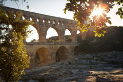 Pont du Gard, Languedoc-Roussillon Royalty Free Stock Image