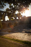 Pont du Gard, Languedoc-Roussillon Stock Photos