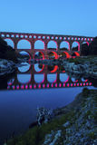 Pont du Gard royalty free stock images