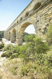 Pont du Gard, Nimes, France Royalty Free Stock Photography