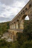 Pont du Gard, Nimes, Francia Fotos de archivo libres de regalías