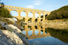 Pont du Gard in Provence, France Stock Image